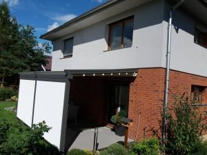 Pergola zvládne vytvořit na terase dokonalý stín