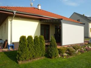 Pergola vytvoří na terase ucelený stín