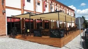 Markýza ZEN na zahrádce restaurace 3