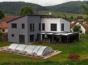 pergola Flat s rovnou střechou