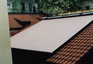 Markýza Climavelum na střeše