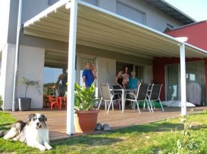 Takhle vypadá rodinná pohoda na terase